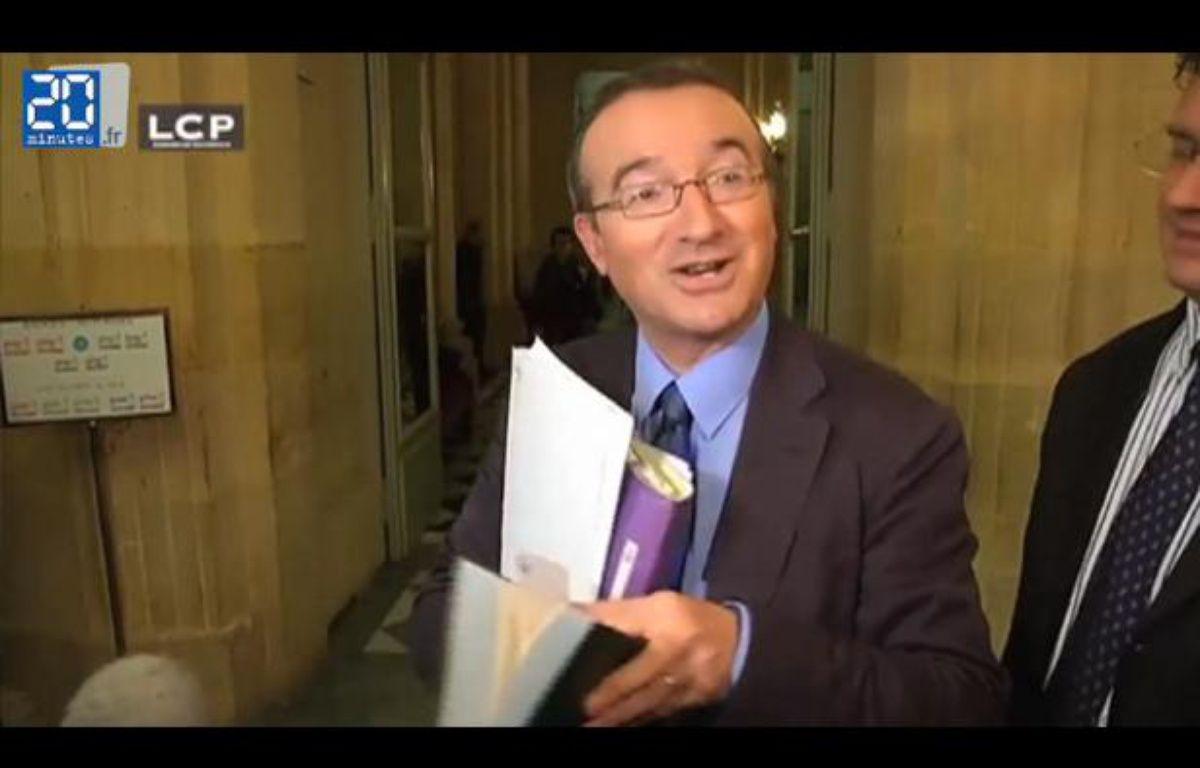Zapping. Hervé Mariton, l'omniprésent député des débats sur le «mariage pour tous».  – Capture d'écran