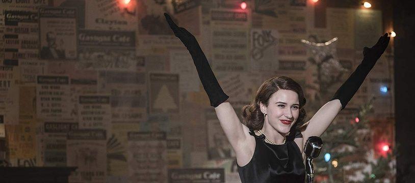 Rachel Brosnahan campe Midge dans «The Marvelous Mrs. Maisel».