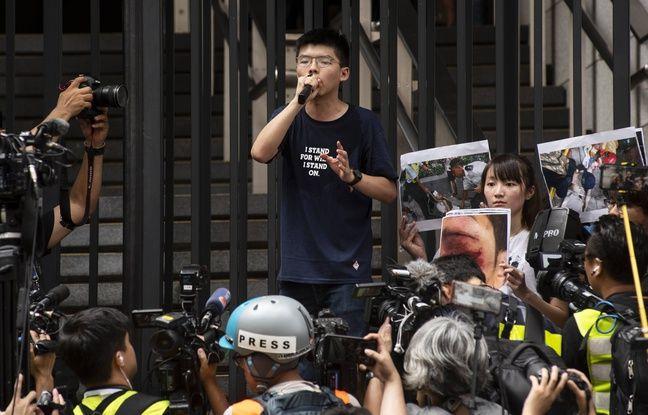 Peines d'emprisonnement pour Joshua Wong et deux célèbres militants prodémocratie — Hong Kong