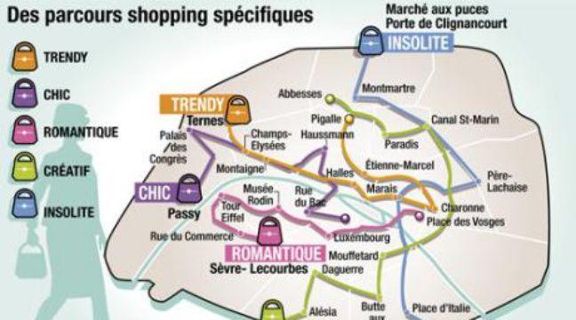 Du shopping sur mesure pour les touristes - Office du tourisme a paris ...