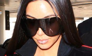 Kim Kardashian, le 11 janvier 2017...