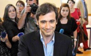 Pedro Passos Coelho, leader du PSD (centre-droit), hier.