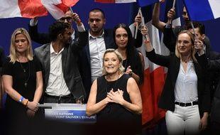 Marine Le Pen à Fréjus en 2018.