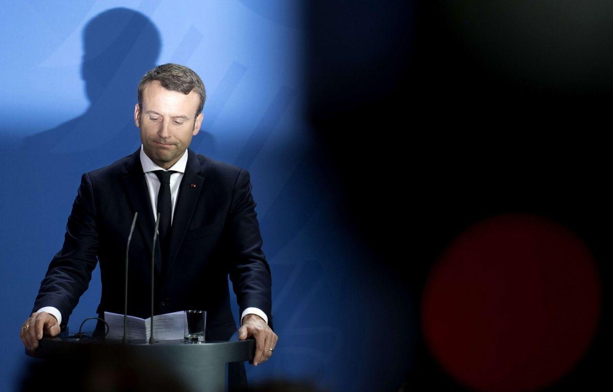 Emmanuel Macron  – Stefan Boness/Ipon/SIPA