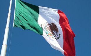 Le drapeau du Mexique.