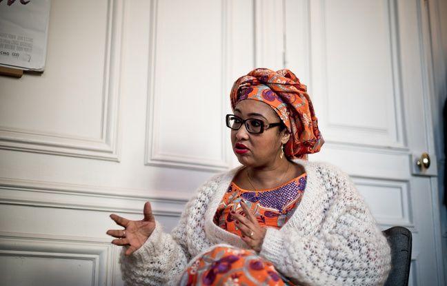 Djaïli Amadou Amal en plein interview avec « 20 Minutes »