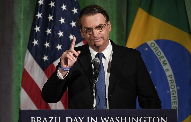 Etats-Unis: Jair Bolsonaro en visite à Washington pour rencontrer Donald Trump