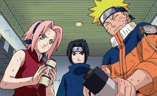 Extrait de la série d'animation «Naruto».