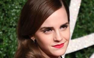 Emma Watson aux British Fashion Awards 2014, le 1er décembre.