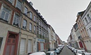 La rue Caumartin, à Lille-Moulins