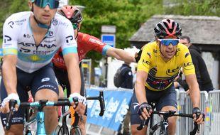 Richie Porte a remporté le Dauphiné, le 6 juin 2021.