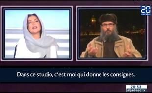 La journaliste Rima Karaki remet à sa place un cheikh islamiste.