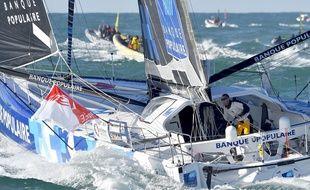 Armel Le Cléac'h a remporté le dernier Vendée Globe, en 2017.