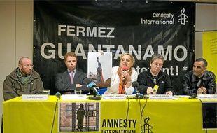 Amnesty International organisait hier à Paris une conférence aux côtés de deux anciens détenus de Guantanamo.
