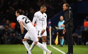 Rabiot entre en jeu en fin de match contre Liverpool.