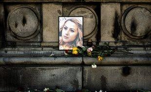 La journaliste bulgare Viktoria Marinova a été retrouvée morte à Roussé, en Bulgarie, le 6 octobre 2018.