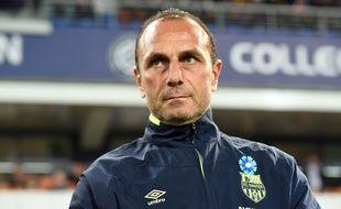L'entraîneur nantais Michel Der Zakarian. AFP PHOTO / PASCAL GUYOT