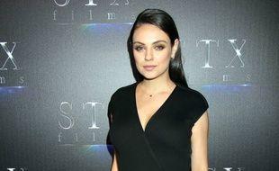 Mila Kunis au CinemaCon de Las Vegas