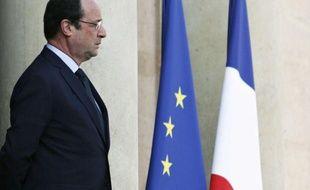 Le président de la République François Hollande, le 26 mars 2014 à l'Elysée.