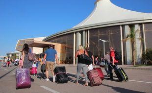L'aéroport de Charm-el-Cheikh, en Egypte, le 7 novembre 2015.