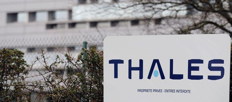 Illustration du site Thales à Toulouse. AFP PHOTO / REMY GABALDA