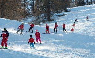 La station de Valberg avait un taux de remplissage de ses hôtels de 55% la première semaine des vacances de Noël, et de 98% la seconde.