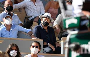 Patrick Bruel, le 11 juin 2021, à Roland-Garros.