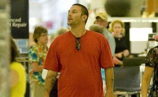 Kevin Federline se promène dans un centre commercial de Los Angeles, en Californie, le 29 juillet 2009.