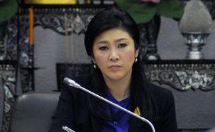 La Première ministre Yingluck Shinawatra, le 15 janvier 2014 à Bangkok
