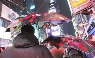 La célébration du Nouvel an à Times Square à New York s'est déroulée sans problème.