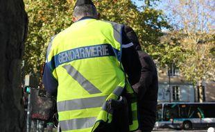 Photo d'illustration d'un gendarme.
