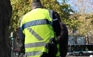 Un gendarme (illustration).