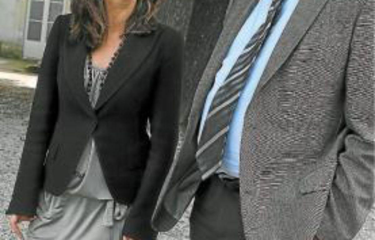 Johanna Rolland (1re adjointe) et Patrick Rimbert (maire). –  F. Elsner/ 20 Minutes