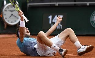 Marco Cecchinato tape Djoko et fonce en demi-finale à Roland-Garros.