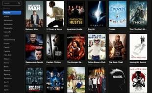 Popcorn Time, un logiciel de streaming qui propose des contenus pour la plupart illégaux.