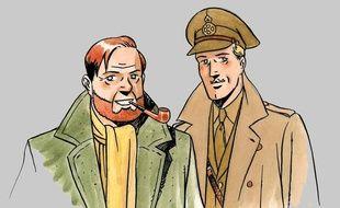 Blake et Mortimer dessinés par André Juillard