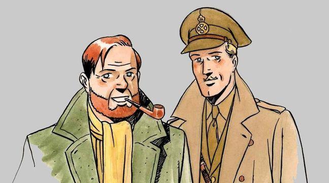 Blake et Mortimer dessinés par André Juillard – Y. SENTE, A. JUILLARD & ED. BLAKE ET MORTIMER 2016