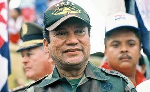 Manuel Noriega en 1989.