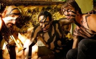 Zebra sera accompagné de son duo de cuivres jeudi soir à Rennes.