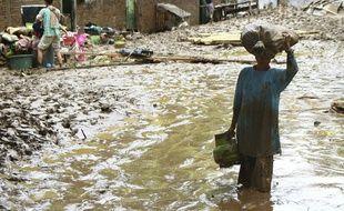 Des crues mortelles ont eu lieu sur l'île de Sumatra (Indonésie) fin janvier 2020.