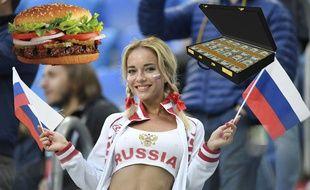 Burger King en Russie, c'est juste du grand n'importe quoi.
