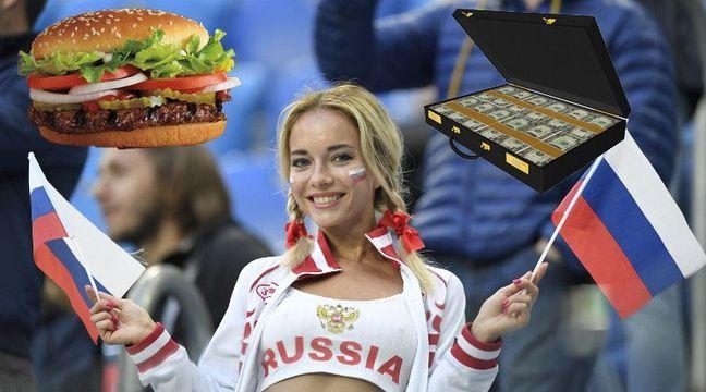 Coupe du monde 2018: 40.000 euros et des burgers à vie pour coucher avec un footeux... Burger King fait scandale en Russie