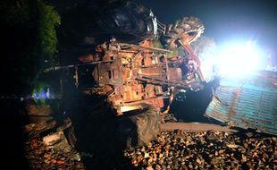 Un accident a eu lieu mardi soir à Saint-Rémy-de-Sillé (Sarthe) entre un TGV et un camion.