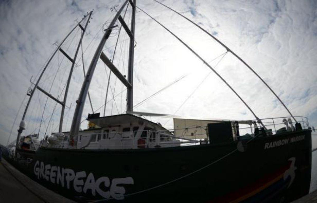 """L'organisation de défense de l'environnement Greenpeace a vivement critiqué mardi le projet de déclaration de la conférence de l'ONU sur le développement durable Rio+20, estimant que celle-ci était devenue """"un échec épique"""". – Christophe Simon afp.com"""