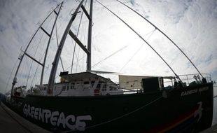 """L'organisation de défense de l'environnement Greenpeace a vivement critiqué mardi le projet de déclaration de la conférence de l'ONU sur le développement durable Rio+20, estimant que celle-ci était devenue """"un échec épique""""."""