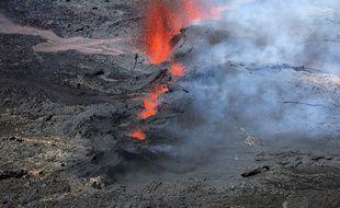 Eruption du piton en 2018