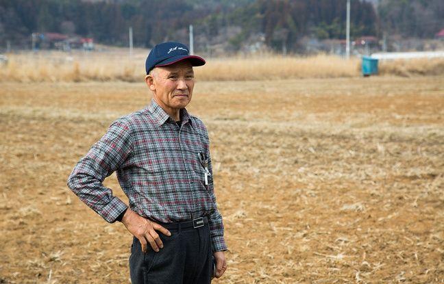 Muneo Kanno, un agriculteur du village d'Iitate (Fukushima).