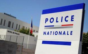 L'hôtel de police d'Avignon.