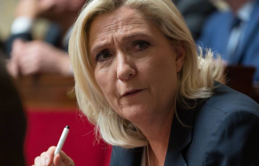 Rassemblement national : Marine Le Pen a « envie d'être candidate en 2022 »