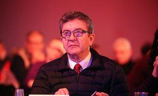 Jean-Luc Mélenchon, le 9 décembre 2018, à Bordeaux.